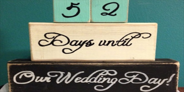 The Wedding Day Countdown Clare Lydon