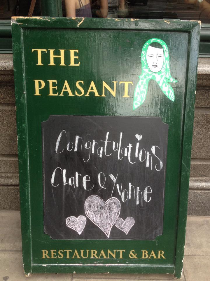 peasant-sign