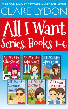All I Want Series, Books 1-6