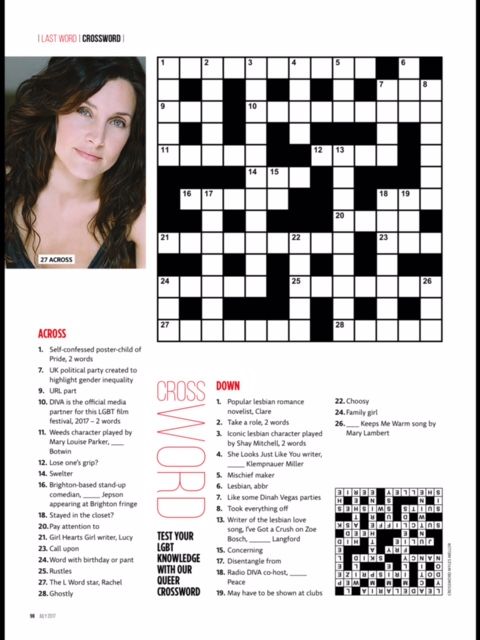 Diva-crossword